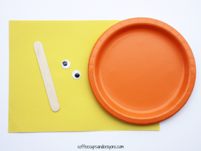 How to Make a Lorax Paper Plate Puppet