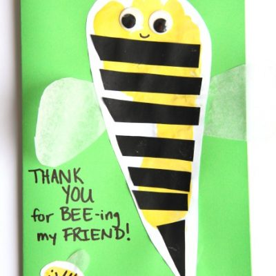 Thank you for Bee-ing my friend kindness card