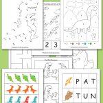 Printable Dinosaur Pack for Preschool