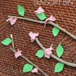 Cherry Blossom Tree Sensory Bin