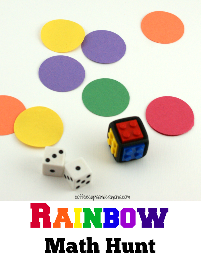rainbow math hunt