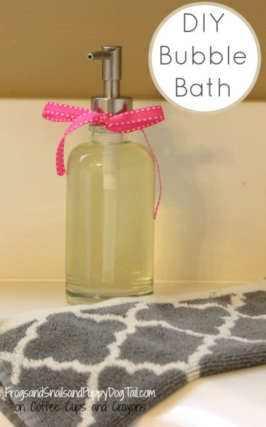 DIY Natural Bubble Bath