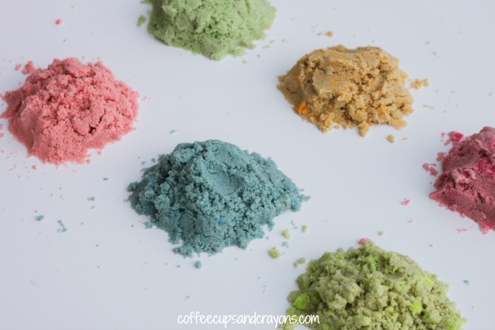 How to Color Sand! Perfect for sand art and sensory play!