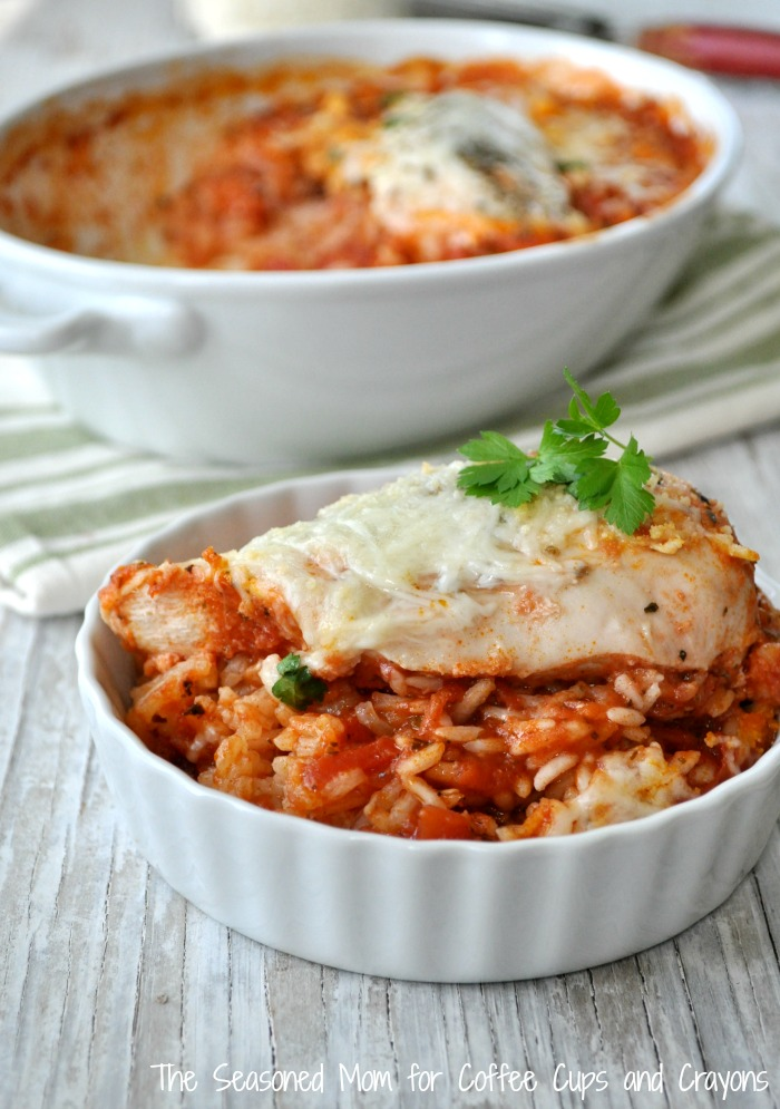 Dump And Bake Italian Chicken And Rice Coffee Cups And Crayons