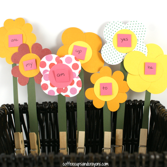 flower sight words
