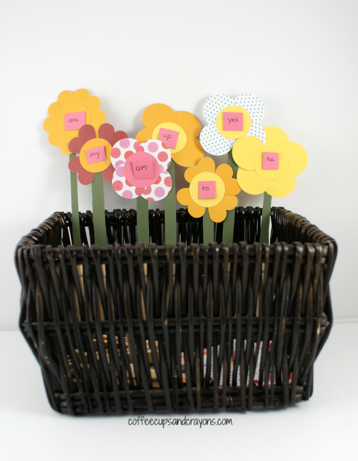 sight word flower garden