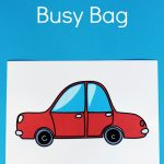Wheel Letter Match Busy Bag