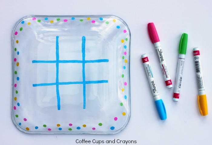 How to Make a Tic Tac Toe Snack Plate!