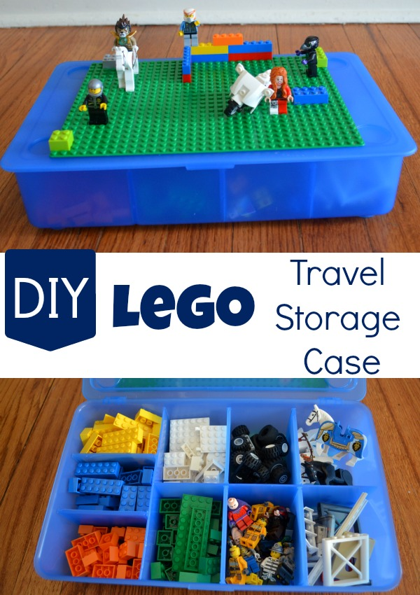 DIY LEGO Storage Case