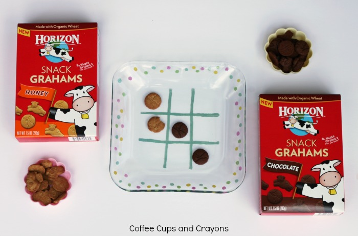 Play Tic Tac Toe at Snack Time with Horizon Snack Grahams!