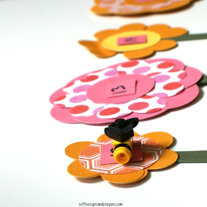 Flower Number Line Game
