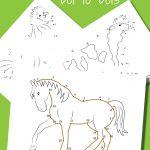 Farm Animal Dot to Dots