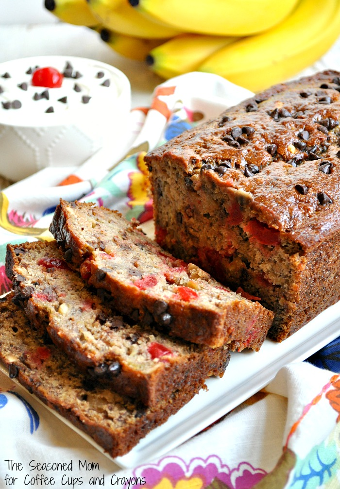 Healthy Banana Split Bread 3