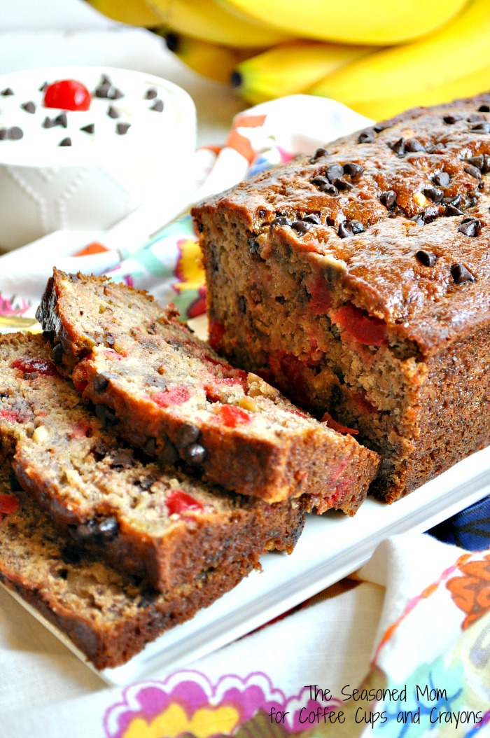 Healthy Banana Split Bread 4