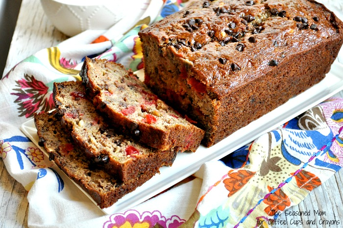 Healthy Banana Split Bread 5