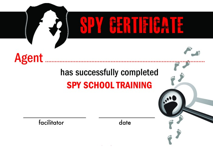 Spy School Printables and Activities!