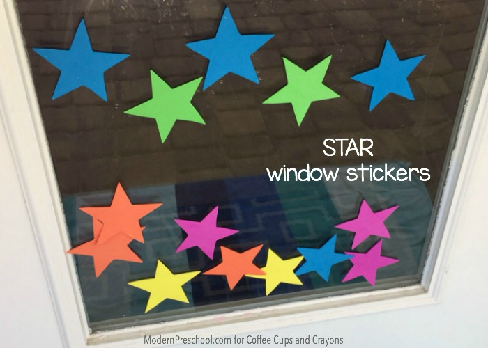 Star Theme Window Stickers5