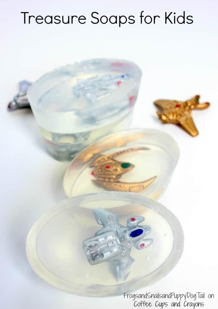 Treasure Soaps for Kids