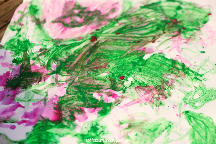 Ice Painting Summer Art Activity for Kids!