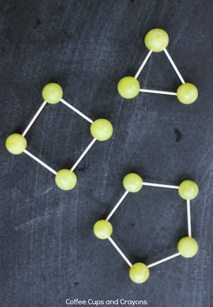 Make grape shapes to explore the properties of shape and geometry!