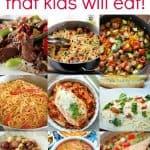 Kid Friendly One Pot Meals