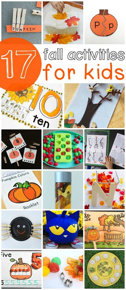 17 FUN Busy Bags and other fall activities preschool kids will LOVE!