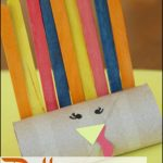 Paper Roll Pattern Turkey Craft