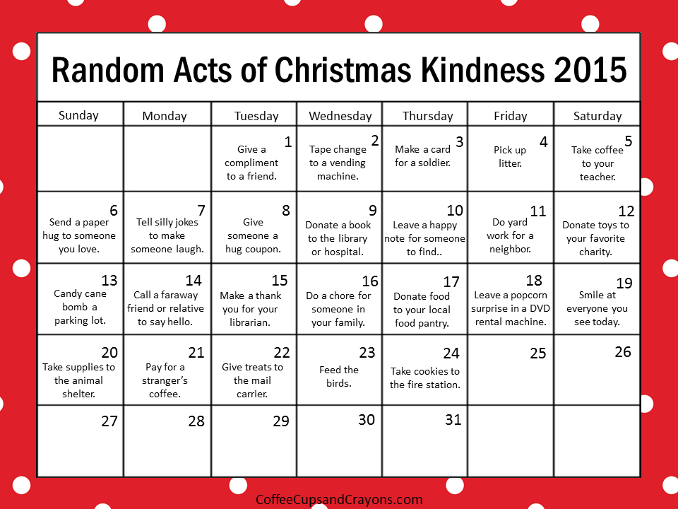 Kindness is the best way to countdown to christmas coffee cups and kindness is the best way to countdown to christmas coffee cups and crayons solutioingenieria Image collections