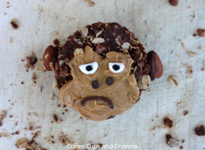 Kids will ADORE this gorilla granola snack!