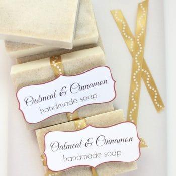 DIY Oatmeal and Cinnamon Soap
