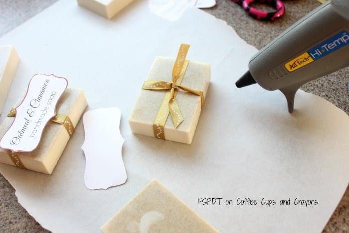DIY soap for handmade Christmas gifts
