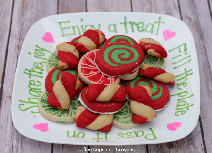 Make a Kindness Cookie Plate for friends and neighbors! It's so simple!