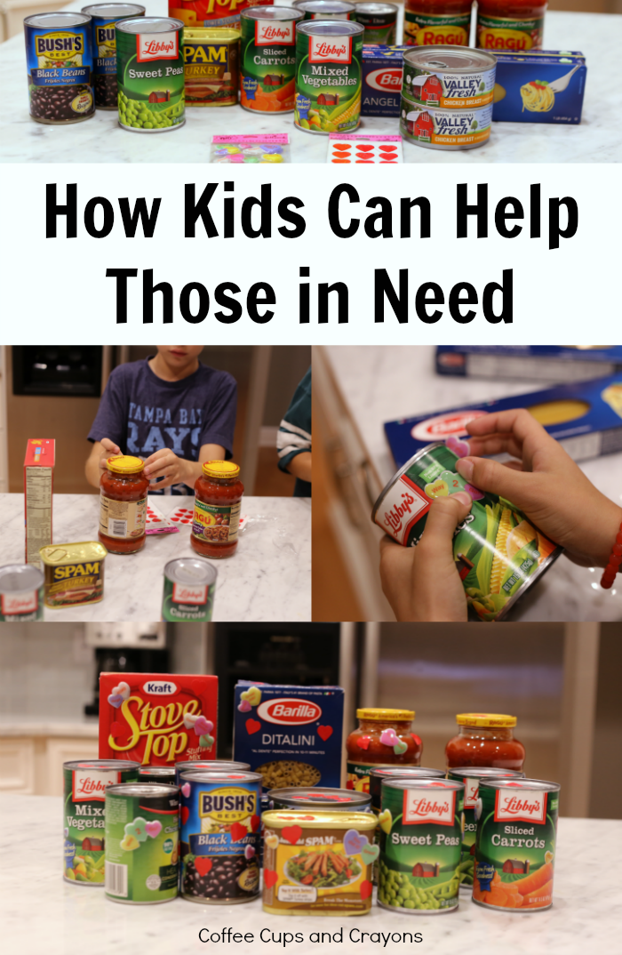 How even young kids can help those in need in your community! A great act of kindness for families and classes!