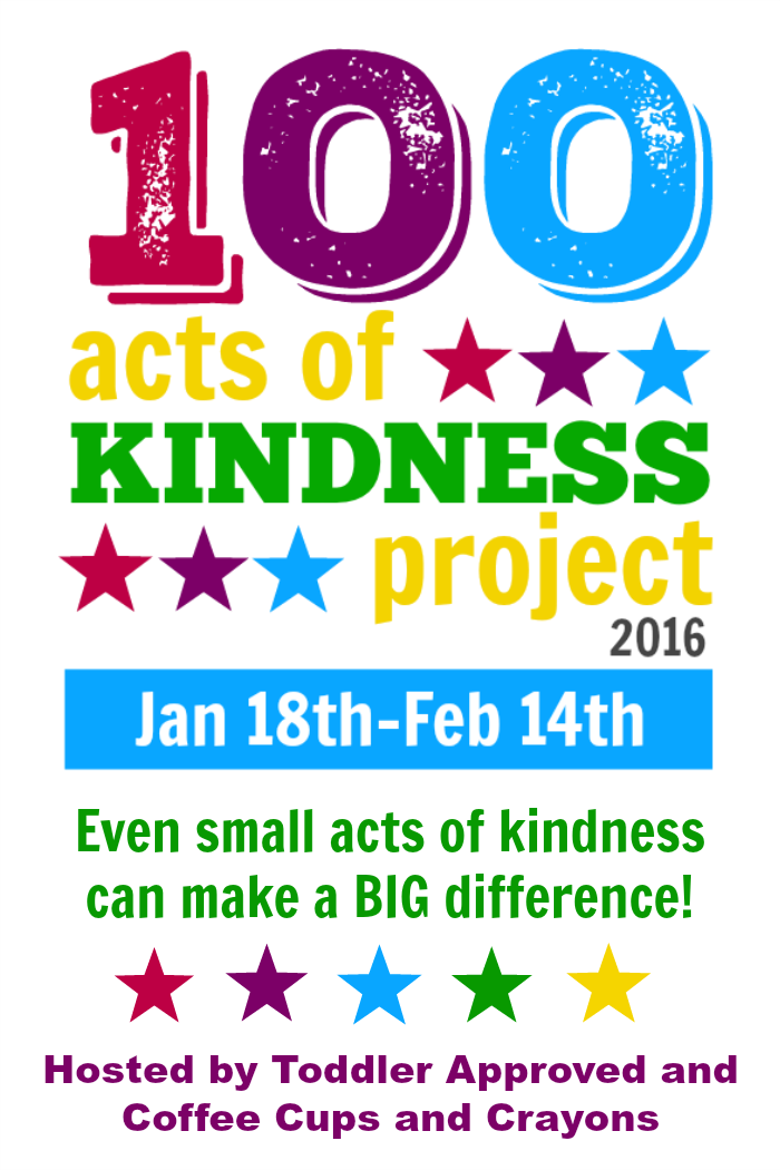Join the 100 Acts of Kindness Challenge!!! Do 100 acts of kindness with your family, class, scout group or church. We have tons of resources including free printable RAK'd cards in the post!