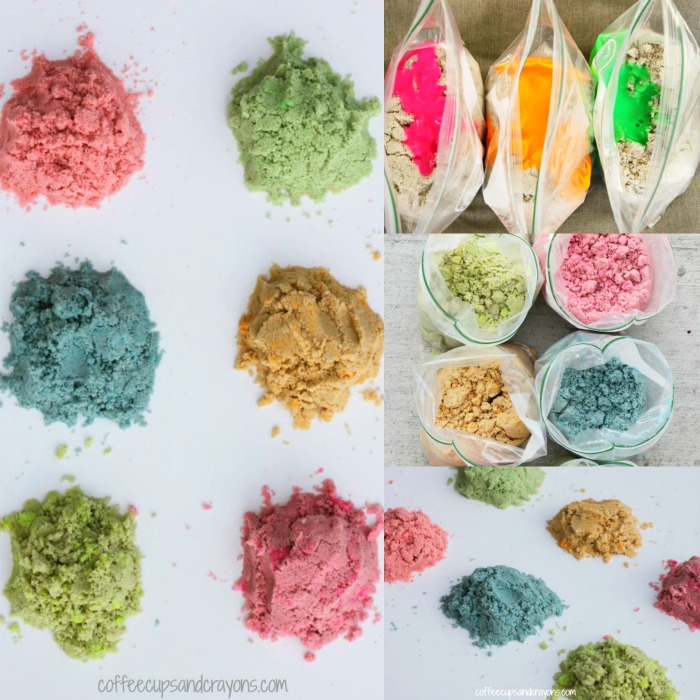How to make colored sand at home!
