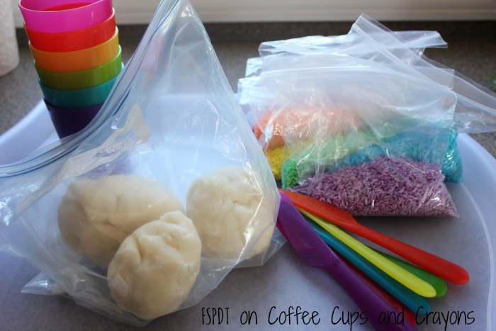 supplies for sensory play