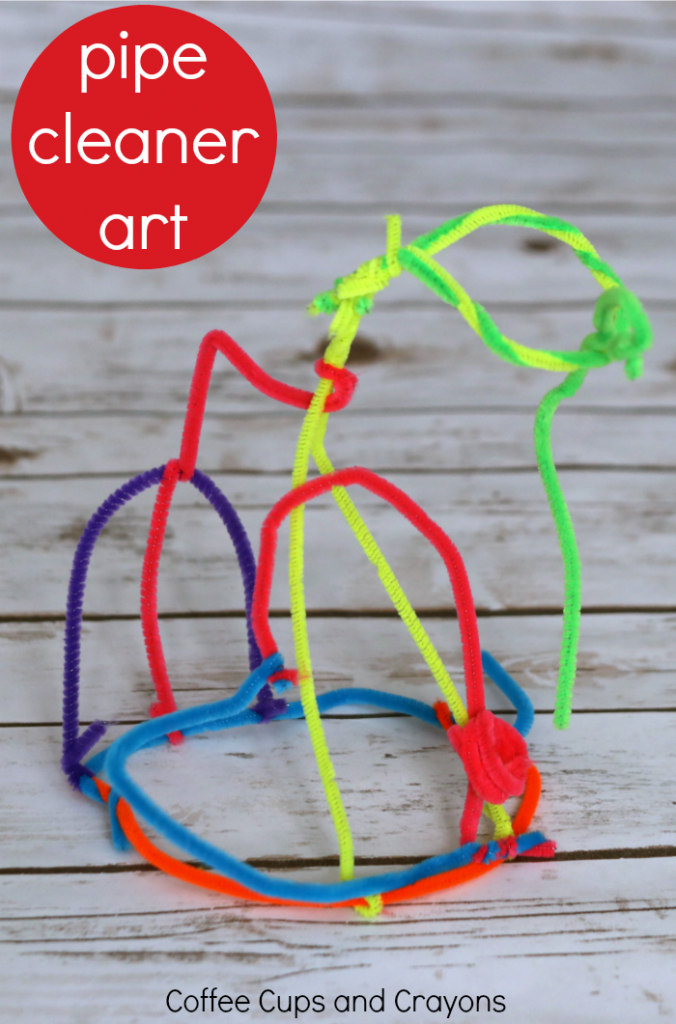 Creating pipe cleaner sculptures is so much more than just a boredom buster for kids! Just the post for more ideas.