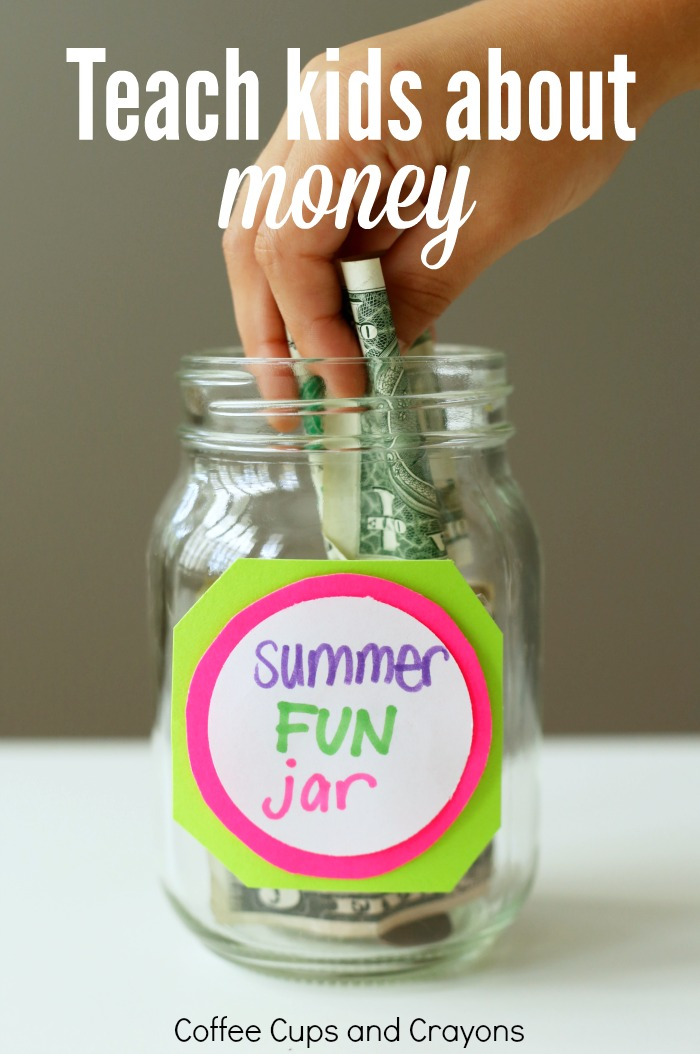 Save this tip! How to teach kids about money and cut down on whining at the same time!