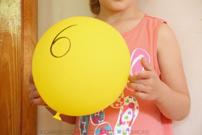 Kids will love these balloon math activities that make learning math fun!