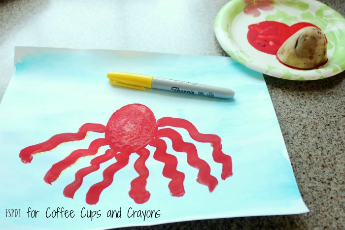 how to make an octopus craft with kids