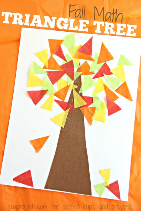 Fall Tree Math Craft