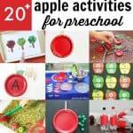 Super Fun Apple Activities for Preschoolers