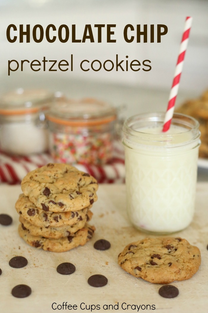 Chocolate Chip Pretzel Cookie Recipe Coffee Cups And Crayons