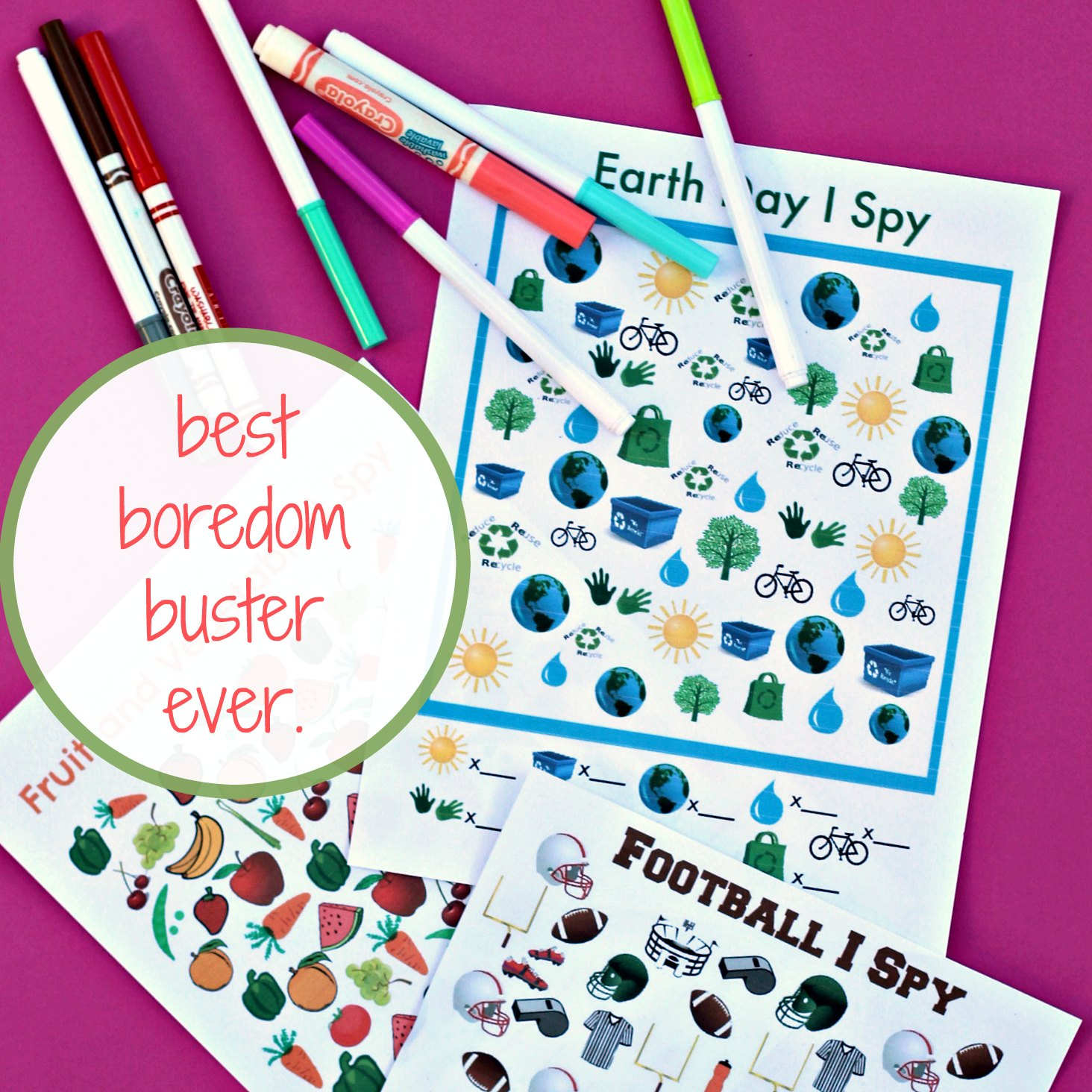 Printable Watermelon Counting Cards | Coffee Cups and Crayons