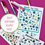 Best Boredom Buster Ever: I SPY Busy Bag
