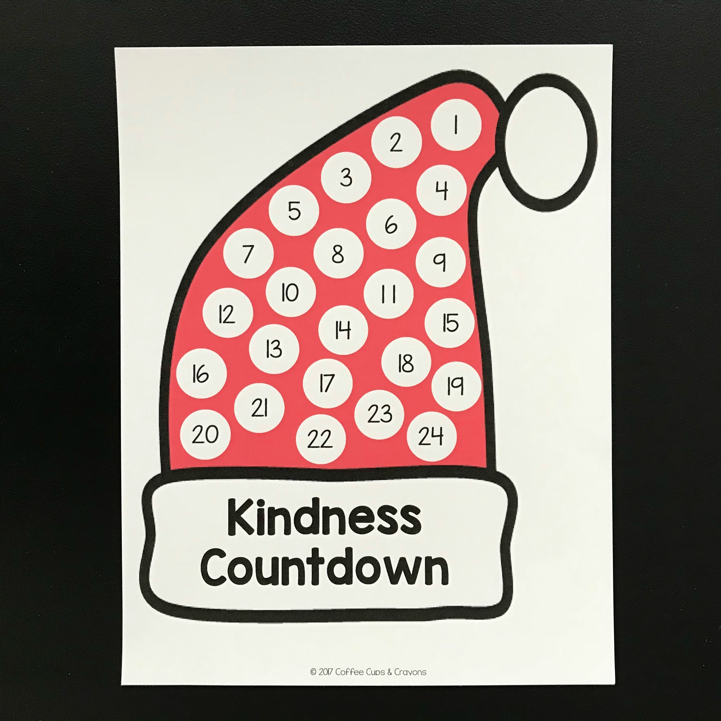Christmas Kindness Countdown!