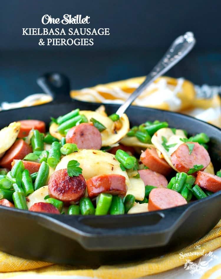 one-skillet-kielbasa-sausage-and-pierogies-text
