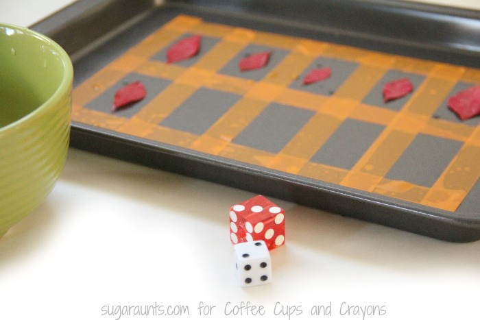 Use this fall leaves ten frame math activity to work on addition.
