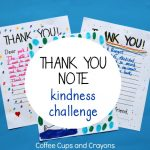 Take the Thank You Note Kindness Challenge