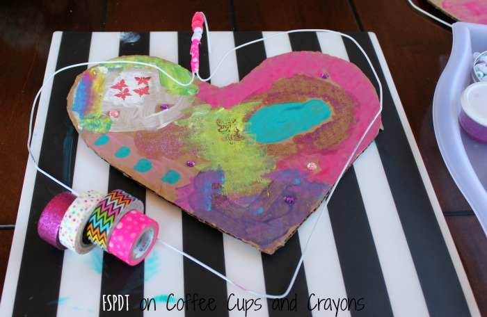 heart hanger art